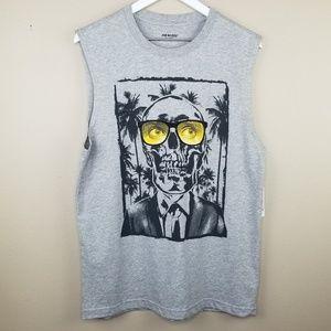 NWT Joe Boxer Men's Sleeveless Graphic T-Shirt